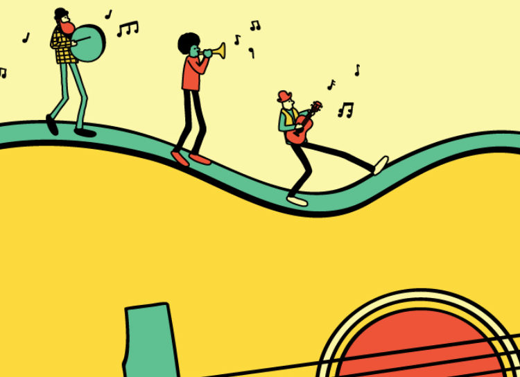 Best music playlist for road-trip